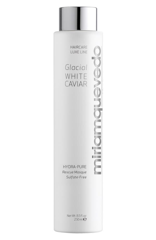 SPACE.NK.apothecary Miriam Quevedo Glacial White Caviar Hydra-Pure Rescue Masque,                             Main thumbnail 1, color,                             No Color