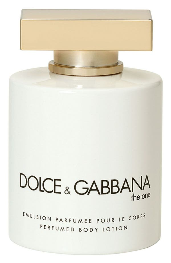 Dolce&Gabbana Beauty 'The One' Body Lotion,                             Main thumbnail 1, color,
