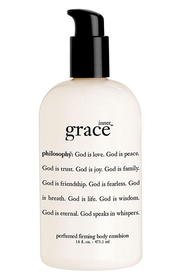 Alternate Image 1 Selected - philosophy 'inner grace' perfumed firming body emulsion