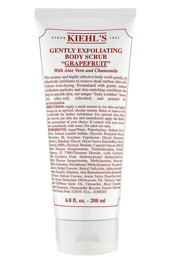 Main Image - Kiehl's Since 1851 Gentle Exfoliating Body Scrub (Grapefruit)