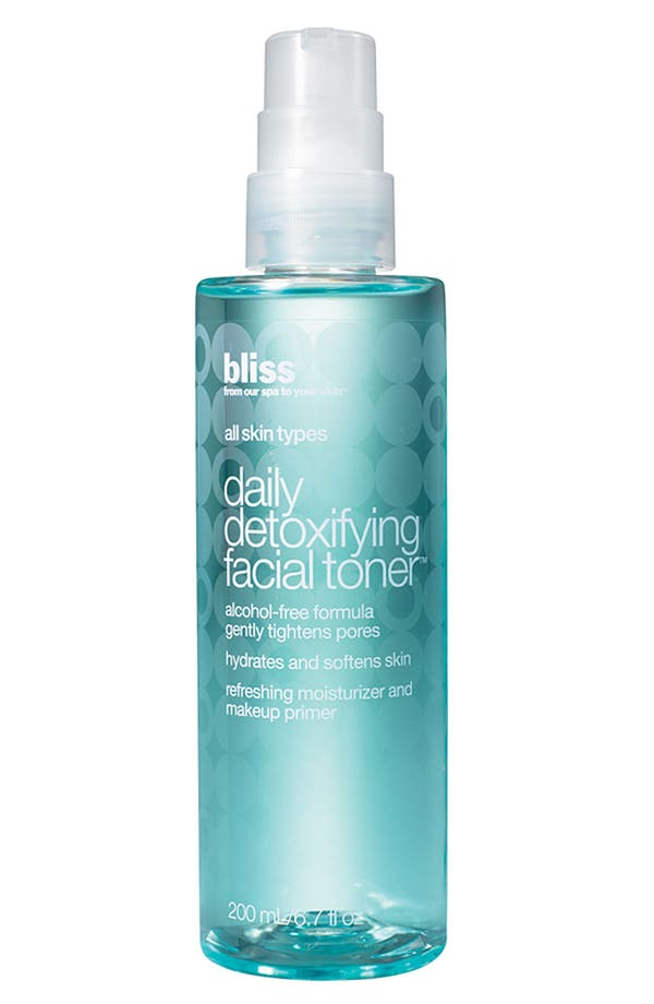 Alternate Image 1 Selected - bliss® Daily Detoxifying Facial Toner