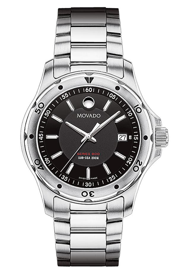 Alternate Image 1 Selected - Movado 'Sub Sea Series 800' Bracelet Watch