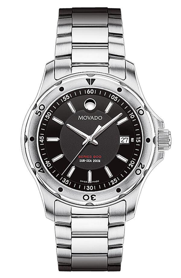Main Image - Movado 'Sub Sea Series 800' Bracelet Watch