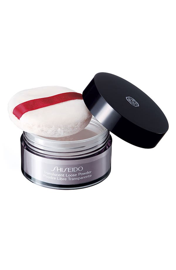Alternate Image 1 Selected - Shiseido 'The Makeup' Translucent Loose Powder