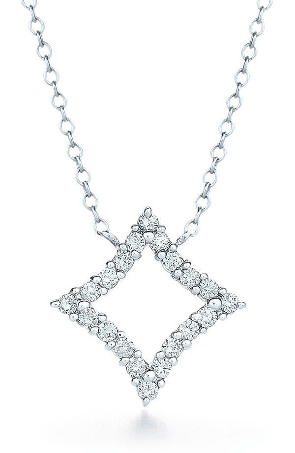 Main Image - Kwiat 'Evergreen' Diamond & White Gold Pendant Necklace