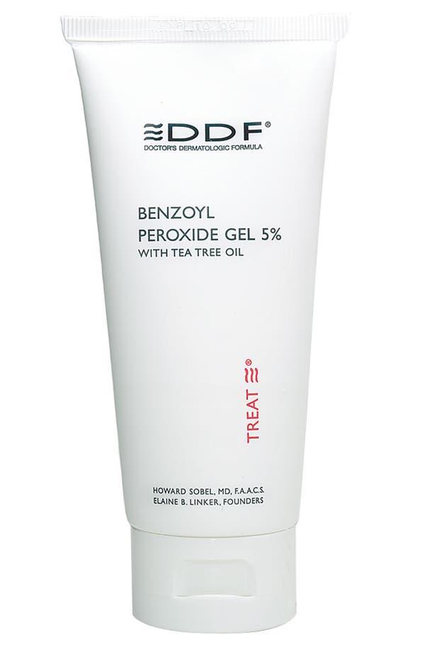 Alternate Image 1 Selected - DDF Benzoyl Peroxide 5% Gel with Tea Tree Oil