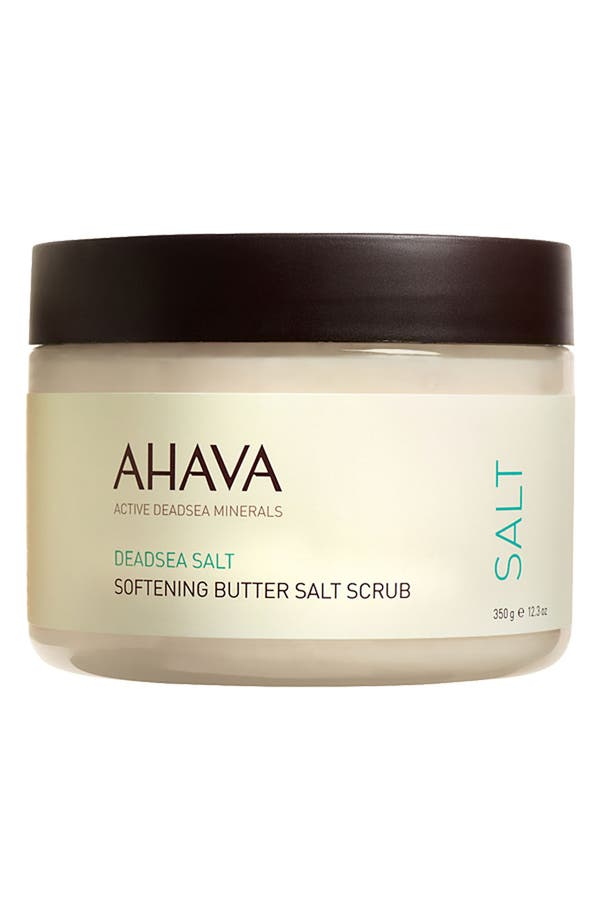 Alternate Image 1 Selected - AHAVA Softening Butter Salt Scrub