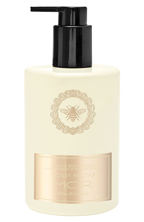 Alternate Image 1 Selected - MOR Honey Nectar Hand & Body Lotion