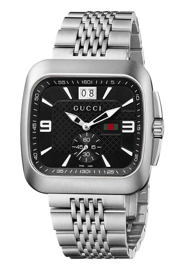 Alternate Image 1 Selected - Gucci 'Coupe' Bracelet Watch, 40mm