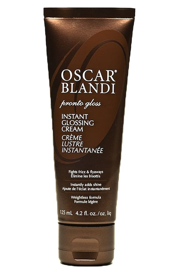 Alternate Image 1 Selected - OSCAR BLANDI 'Pronto Gloss' Instant Glossing Cream