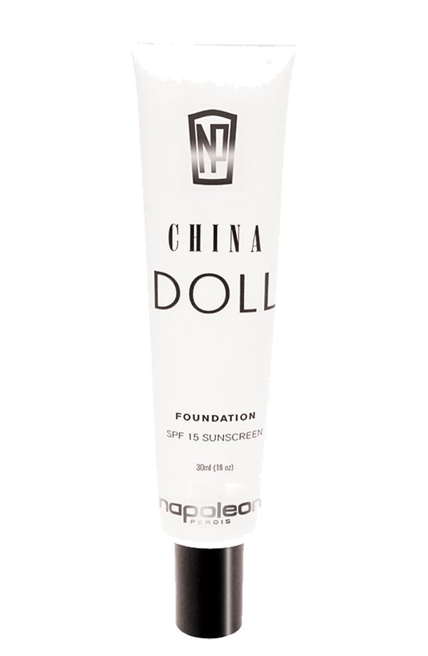Alternate Image 1 Selected - Napoleon Perdis 'China Doll' Foundation SPF 15