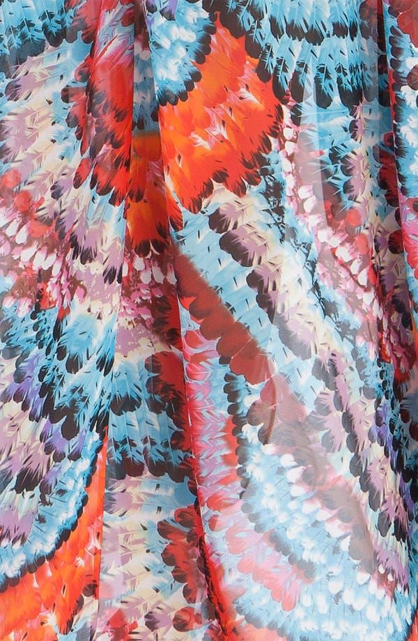 Alternate Image 3  - Aidan Mattox Strapless Chiffon dress
