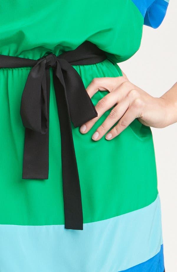 Alternate Image 3  - Donna Morgan Colorblock Silk Crêpe de Chine Dress