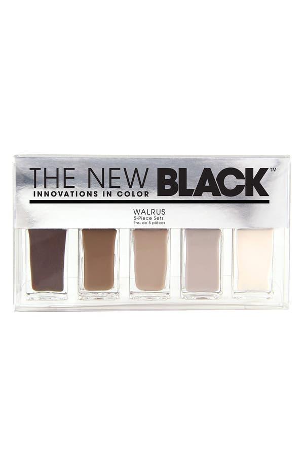Main Image - THE NEW BLACK 'Walrus - Ombré' Nail Polish 5-Piece Set