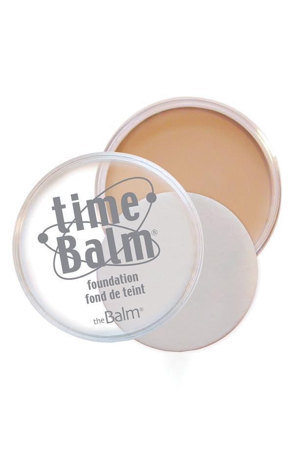 Alternate Image 1 Selected - theBalm® 'timeBalm®' Foundation