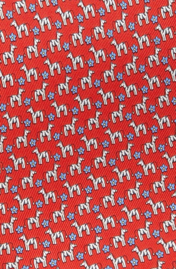 Alternate Image 2  - Salvatore Ferragamo Woven Silk Tie