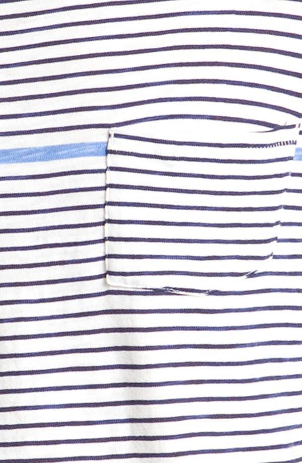 Alternate Image 3  - rag & bone Stripe Pocket T-Shirt