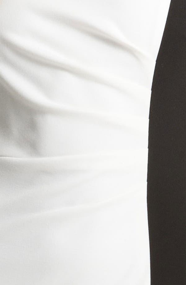 Alternate Image 3  - Calvin Klein Colorblock Ponte Sheath Dress