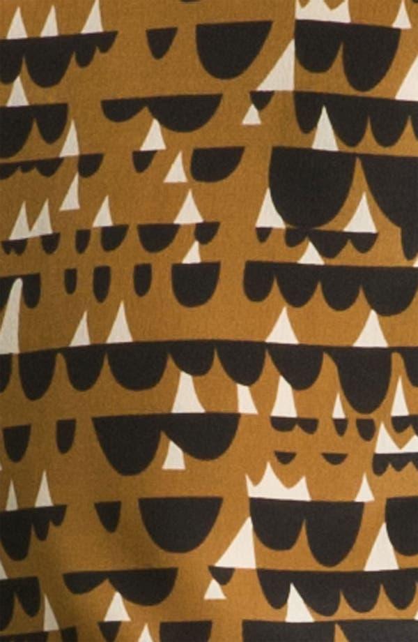 Alternate Image 3  - Line & Dot Sleeveless Silk Blouse