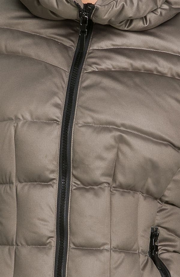 Alternate Image 3  - Bernardo Cinch Collar Down Jacket
