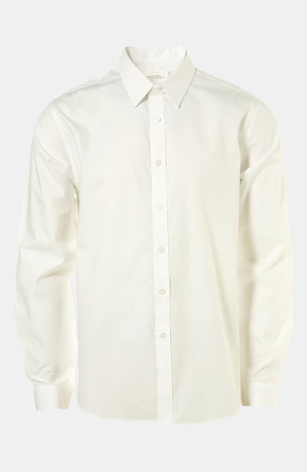 Alternate Image 1 Selected - Topman 'Smart' Extra Trim Dress Shirt