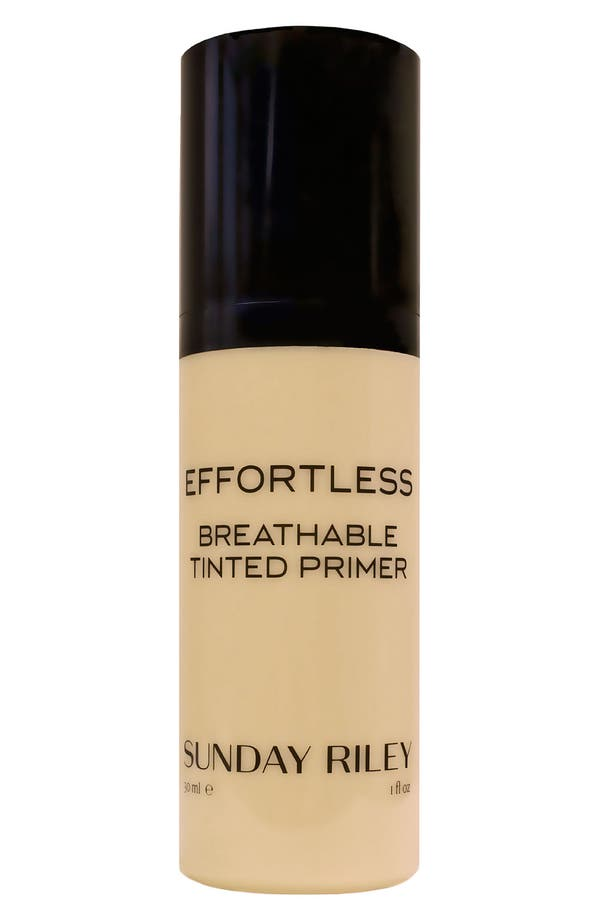 Alternate Image 1 Selected - SPACE.NK.apothecary Sunday Riley Effortless' Breathable Tinted Primer