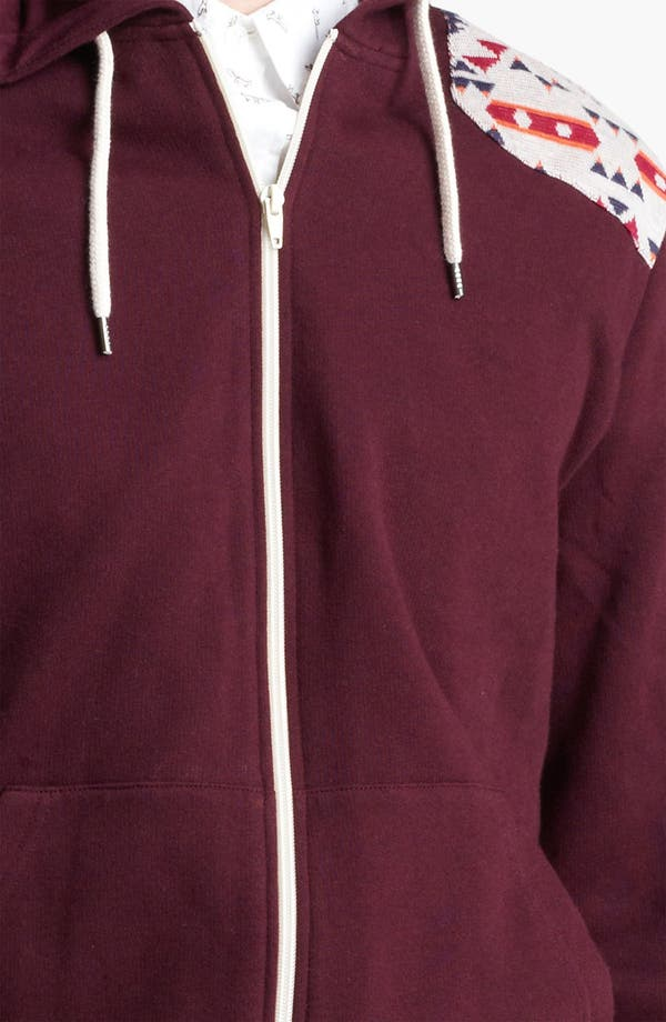 Alternate Image 3  - Topman 'Fudge' Zip Hoodie