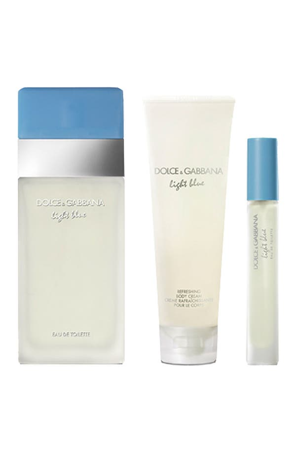 Main Image - Dolce&Gabbana Beauty 'Light Blue' Eau de Toilette Set ($85 Value)