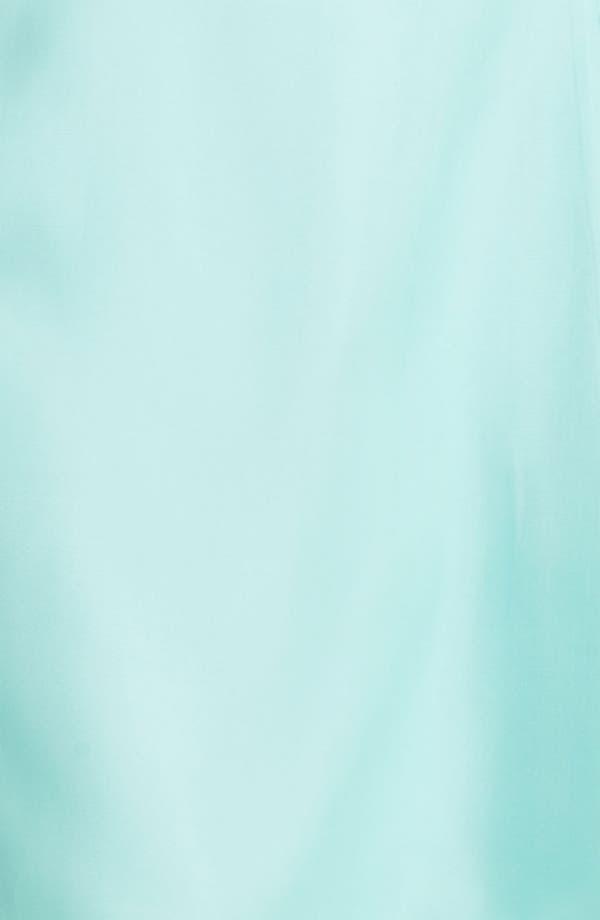 Alternate Image 3  - Donna Morgan Strapless Silk Organza Fit & Flare Dress