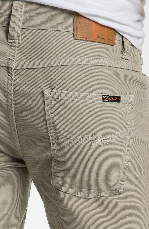 Alternate Image 3  - Nudie 'Slim Jim' Slim Straight Leg Corduroy Pants