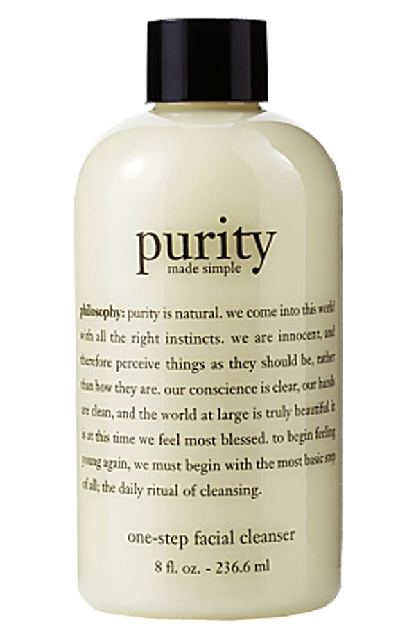 Alternate Image 2  - philosophy 'purity made simple' one-step facial cleanser