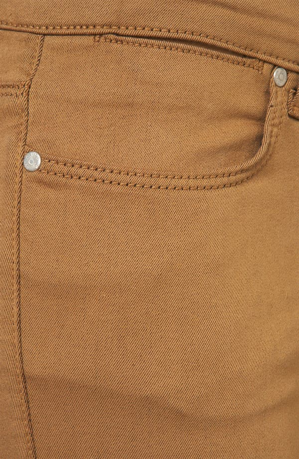 Alternate Image 3  - Topshop Moto 'Leigh' Skinny Jeans (Tobacco)