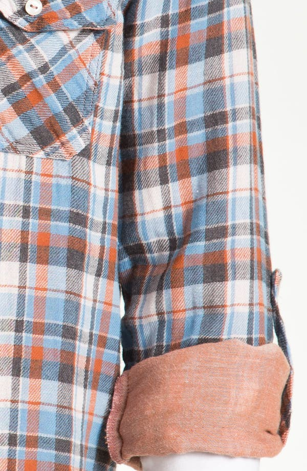 Alternate Image 3  - Splendid Mills 'Cliff' Plaid Cotton Flannel Shirt