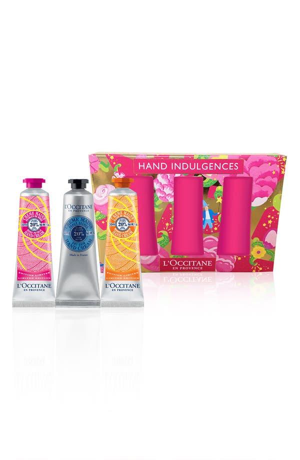 Main Image - L'Occitane 'Hand Indulgences' Hand Cream Set (Nordstrom Exclusive) ($30 Value)