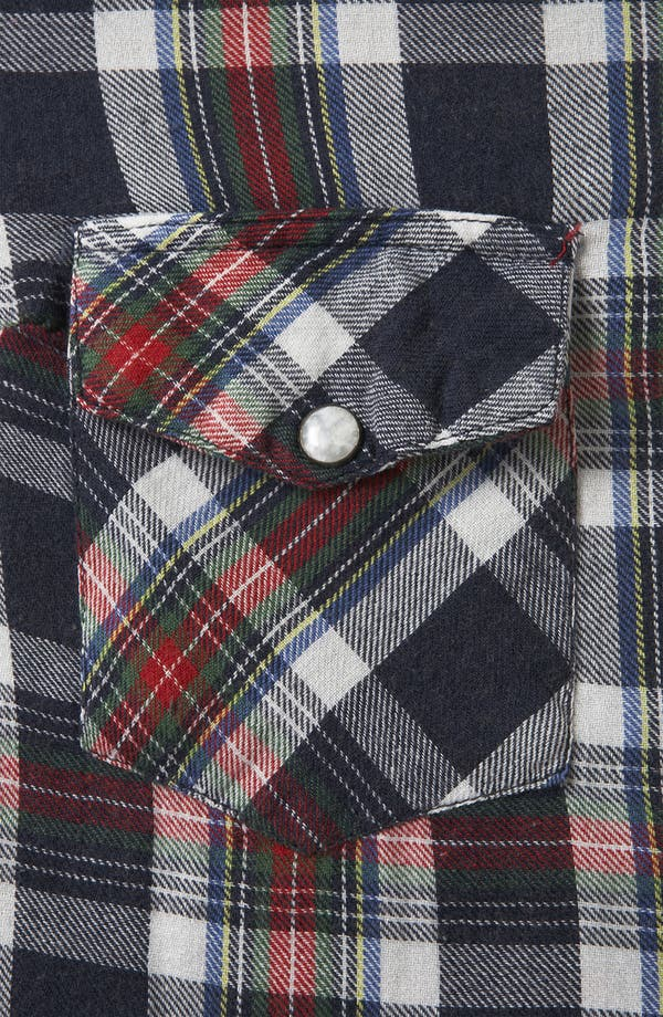 Alternate Image 3  - Topshop 'Glasgow' Plaid Shirt