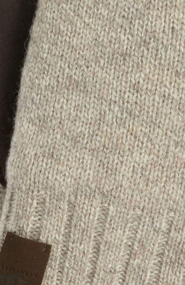 Alternate Image 2  - UGG® Australia Lambswool & Leather Gloves