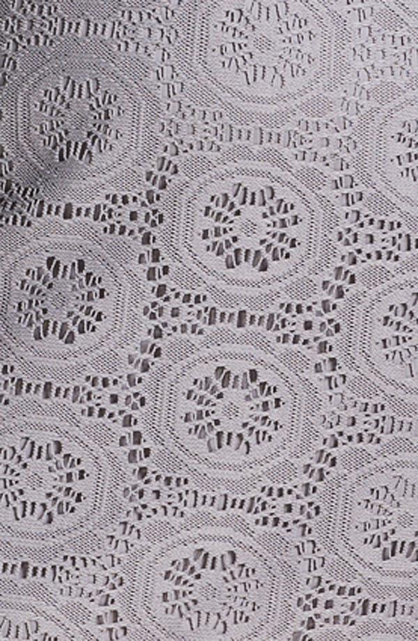 Alternate Image 3  - Adrianna Papell Crochet Overlay Sheath Dress (Plus)