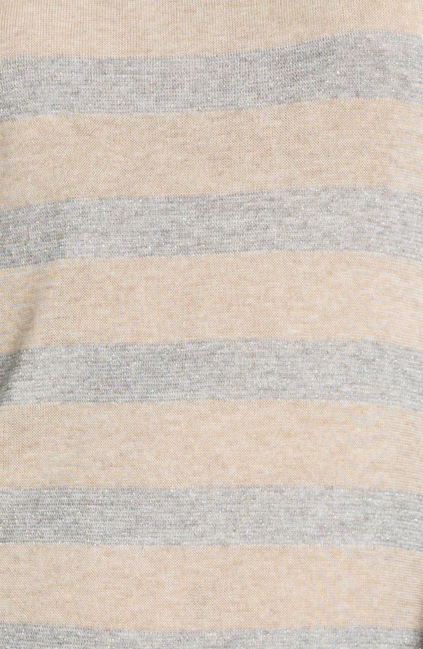 Alternate Image 3  - Splendid 'Rugby' Stripe Baseball Tee