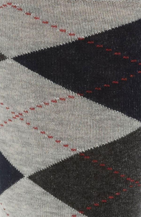 Alternate Image 2  - Nordstrom Cushioned Argyle Socks