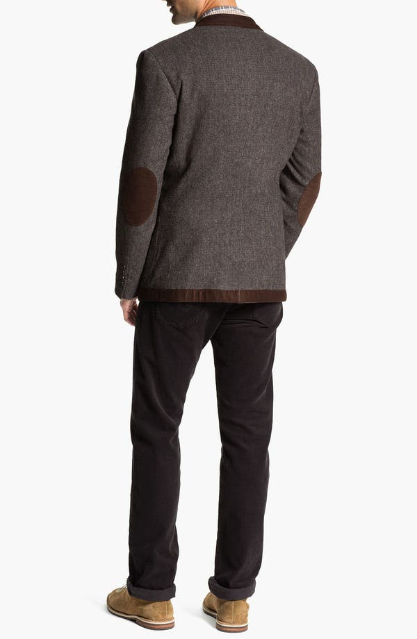 Alternate Image 5  - Lora Gi Half Zip Wool & Cashmere Sweater