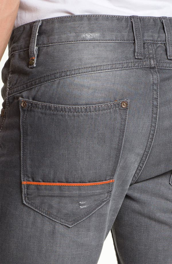 Alternate Image 4  - Robert Graham Jeans 'Grey Day' Slim Straight Leg Jeans (Grey)