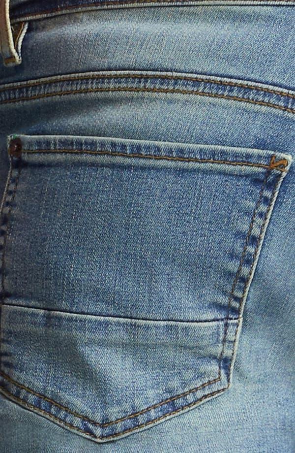Alternate Image 4  - Topman 'Spray On' Skinny Jeans (Atlanta)