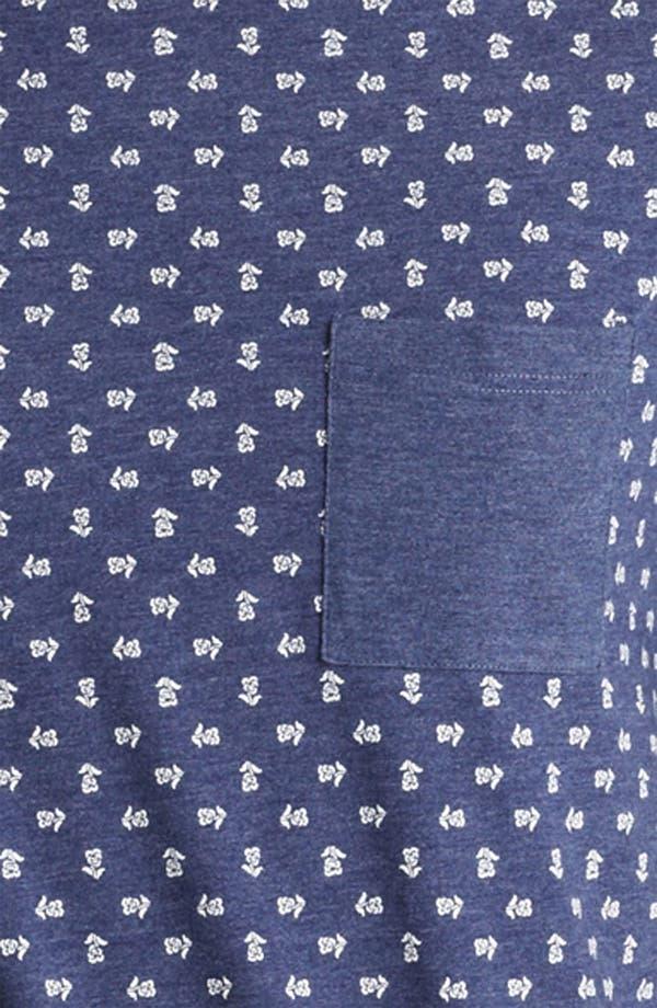Alternate Image 3  - Topman All Over Flower Print T-Shirt