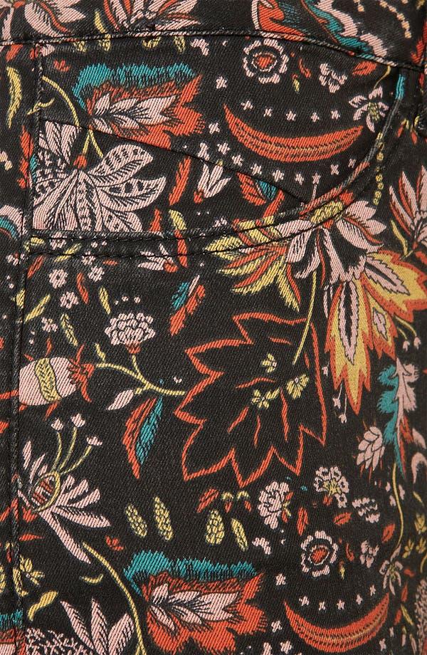 Alternate Image 3  - Topshop Moto 'Scandi' Floral Shorts
