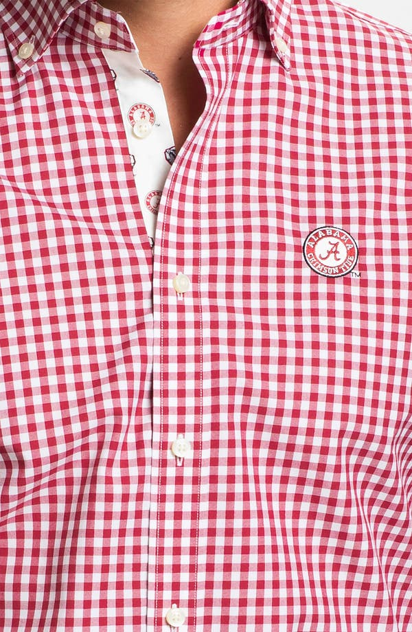 Alternate Image 3  - Thomas Dean 'University of Alabama' Traditional Fit Sport Shirt