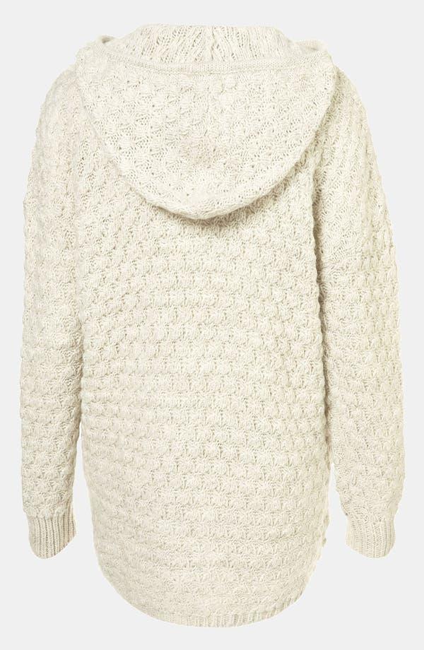 Alternate Image 2  - Topshop Chunky Sweater Hoodie