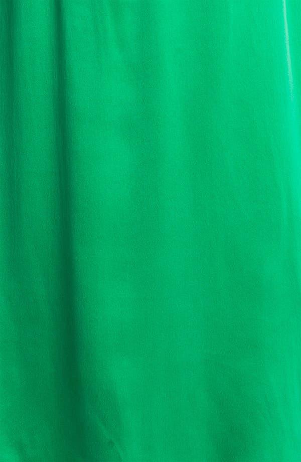 Alternate Image 3  - Max & Mia Sleeveless Silk Dress