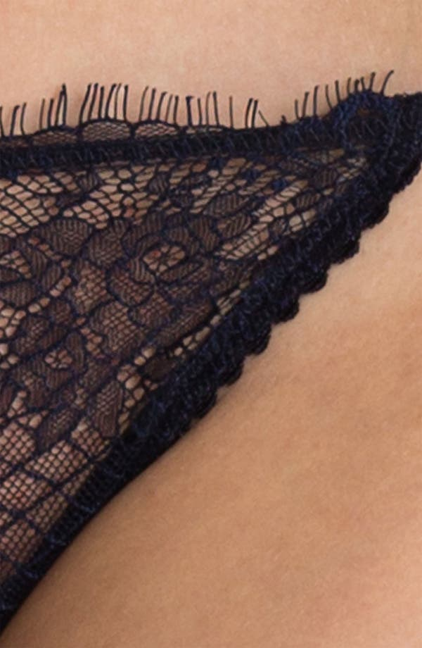 Alternate Image 4  - Calvin Klein Lace G-String