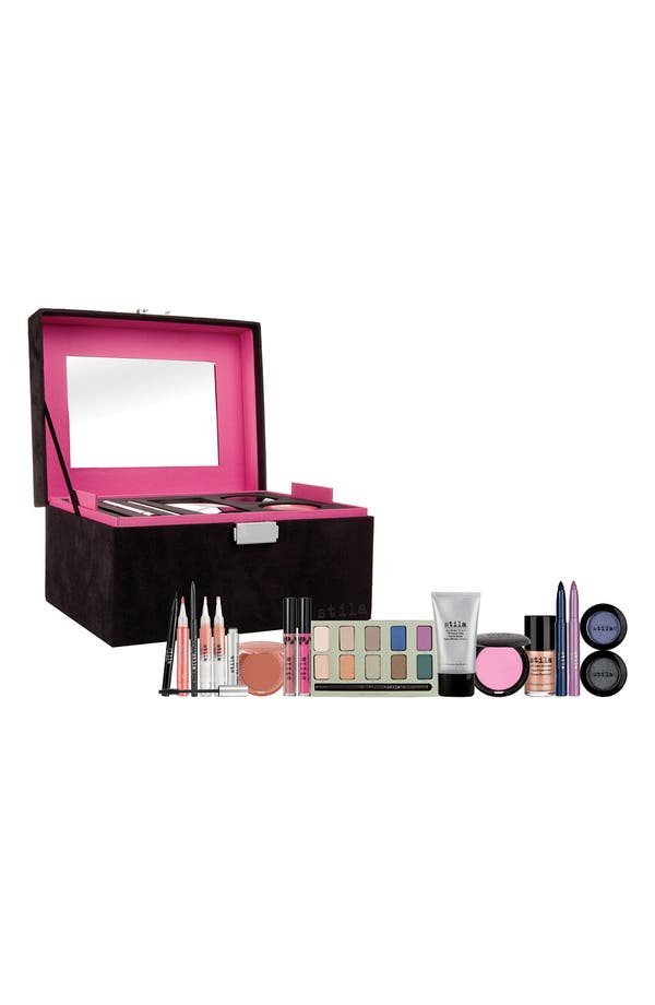 Alternate Image 1 Selected - stila 'midnight express' makeup case ($425 Value)