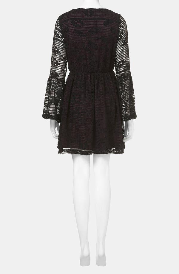Alternate Image 2  - Topshop Doily Lace Dress